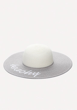 bebe Beachy Floppy Hat