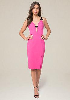 Mandi Bow Front Dress