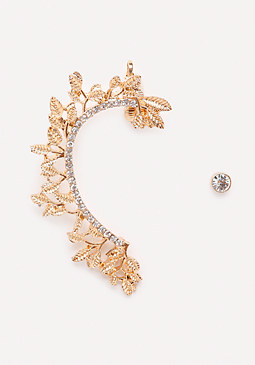 bebe Garden Party Ear Cuffs