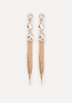 Crystal Droplet Earrings