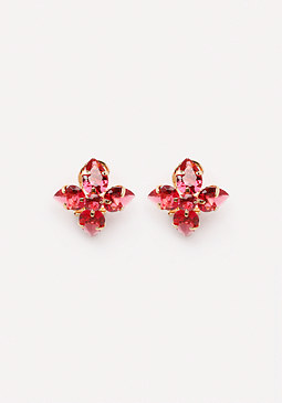 bebe Floral Stud Earrings