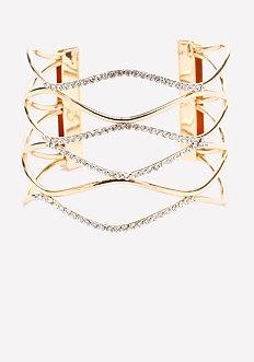Crystal Loop Cuff
