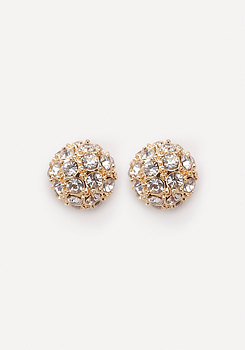 bebe Fireball Stud Earrings