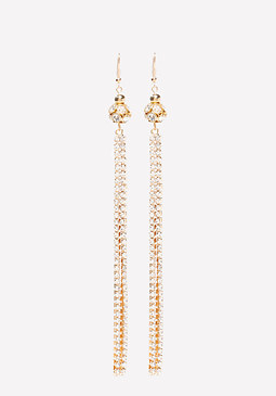 bebe Fireball Duster Earrings