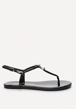 bebe Jaymee Jeweled Sandals