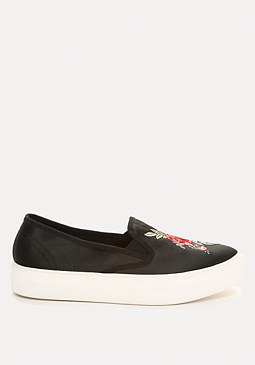 bebe Virdia Embroidered Sneakers