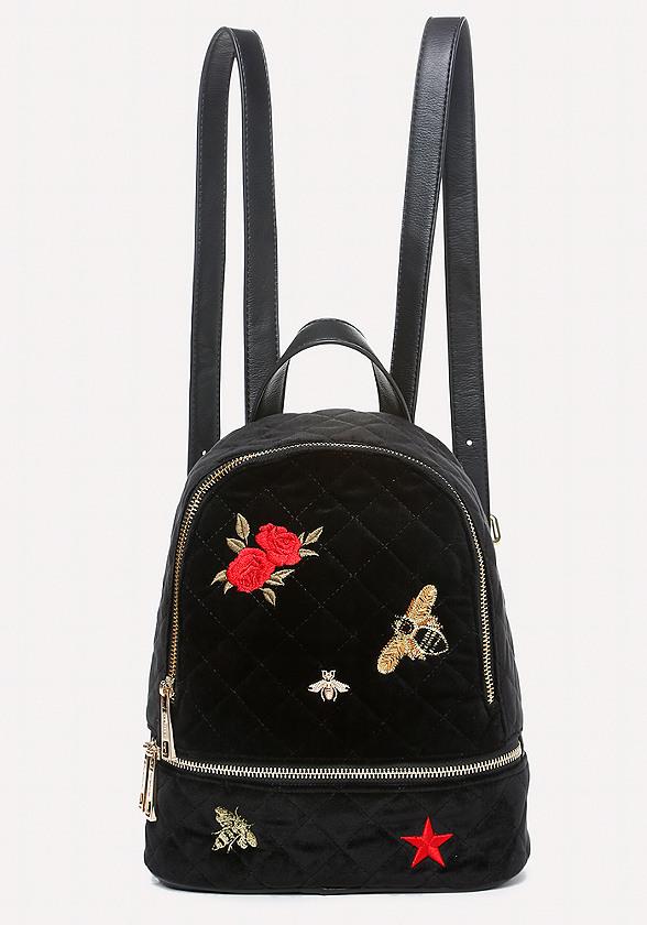 Dalia Embroidered Backpack
