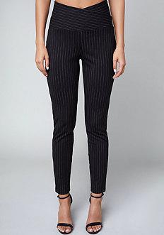 Bebe Sandy Pinstripe Leggings