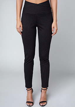 bebe Sandy Pinstripe Leggings
