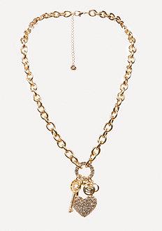 Logo Charm Necklace