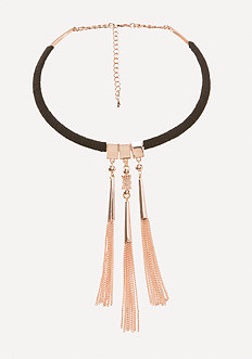 Tassel Collar Necklace