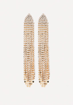 bebe Chainmail Duster Earrings