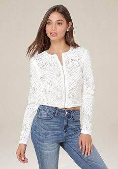 Bianca Studded Jacket