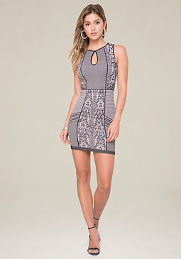 bebe Sleeveless Dress