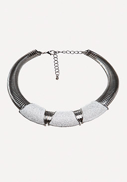 bebe Stretch Metal Collar