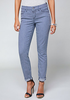 bebe Conductor Stripe Jeans