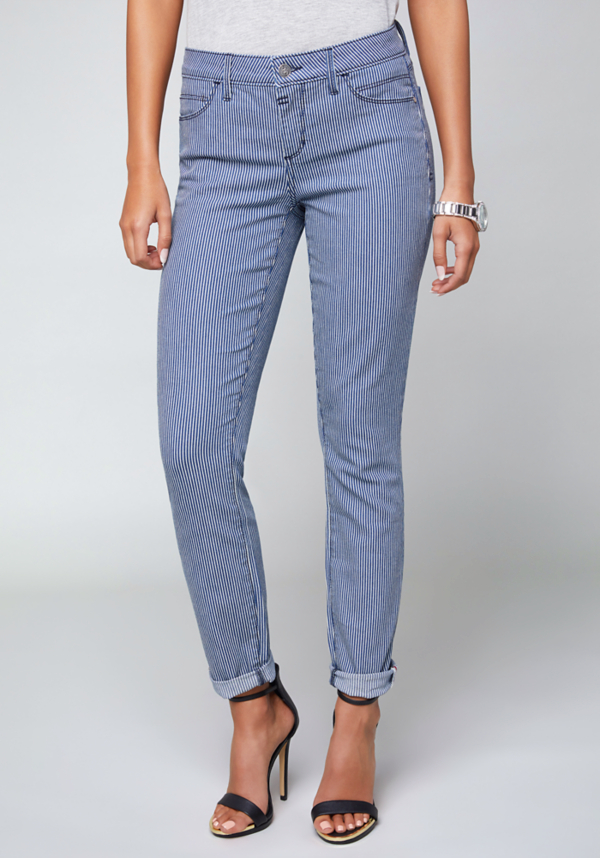 Conductor Stripe Jeans | Tuggl