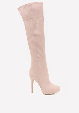 Rihanna Over the Knee Boots at bebe