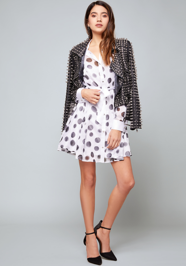 Print Sash Tie Shirtdress at bebe in Sherman Oaks, CA | Tuggl