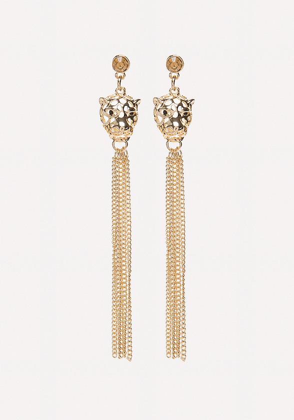 Leopard Duster Earrings