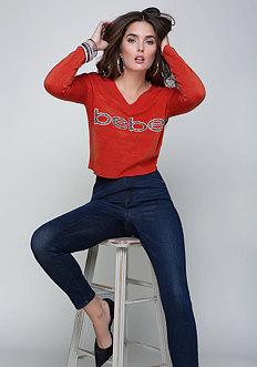 Embellished Logo Sweater