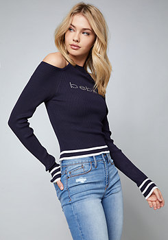 bebe Logo Sporty Sweater