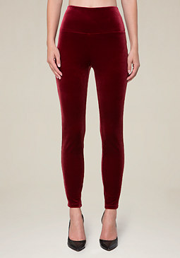 bebe Velvet Leggings
