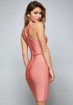 bebe Arlene Bandage Dress