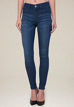 bebe Denim Heartbreaker Jeggings