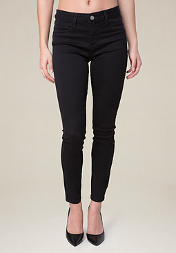 bebe Black Heartbreaker Jeggings