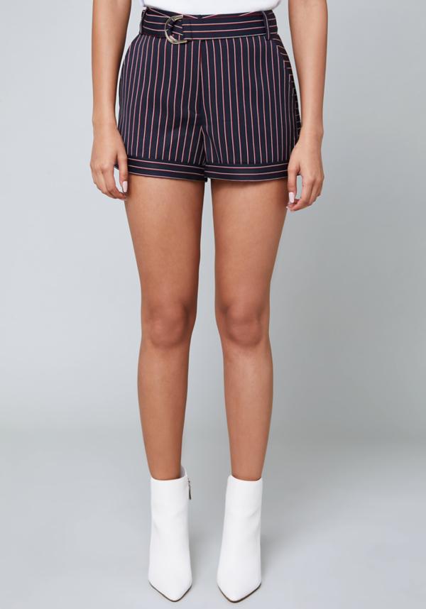 Anna Striped Shorts at bebe in Sherman Oaks, CA | Tuggl