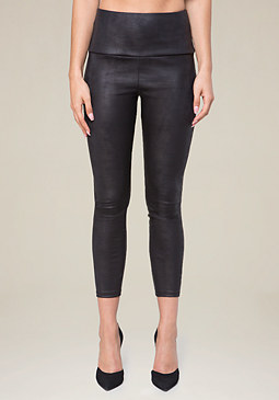 bebe Faux Leather Leggings