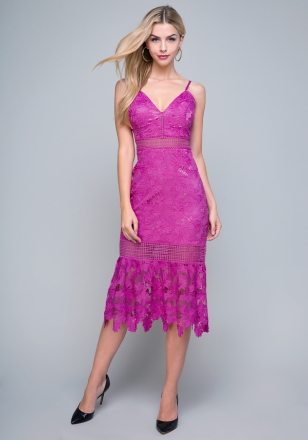 Taylor Lace Dress at bebe in Sherman Oaks, CA | Tuggl