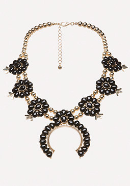 bebe Natasha Statement Necklace