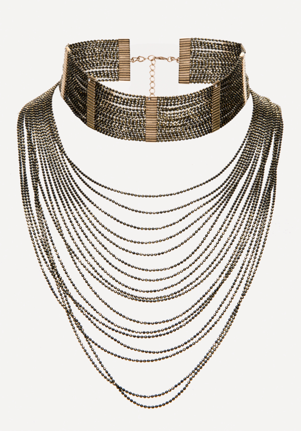 Cascading Choker at bebe in Sherman Oaks, CA | Tuggl