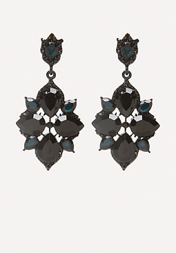 bebe Starburst Drop Earrings