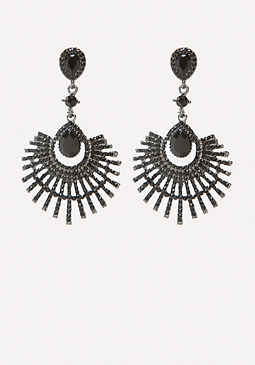 bebe Fanned Out Earrings