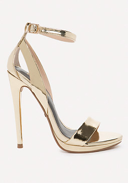 bebe Selina High Shine Sandals