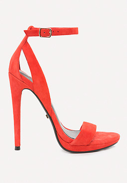 Selina Faux Suede Sandals at bebe