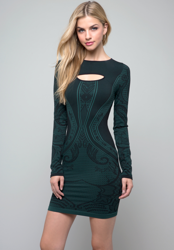 Long Sleeve Bodycon Dress at bebe in Sherman Oaks, CA | Tuggl