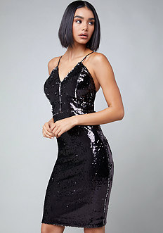 Danny Sequin Dress
