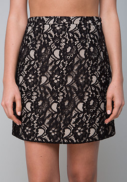 bebe Lace Suit Skirt
