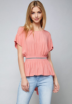 bebe Louise Open Back Top