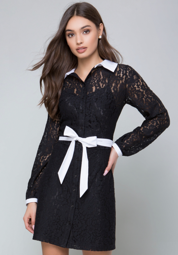 Tilda Lace Dress at bebe in Sherman Oaks, CA | Tuggl