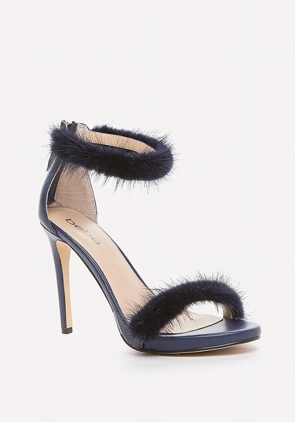 Paaris Faux Fur Sandals