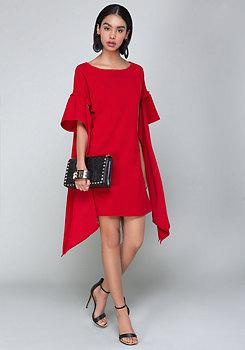 bebe Sleeve Detail Dress