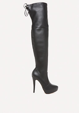 bebe Gia Over the Knee Boots