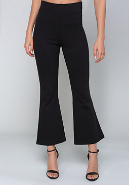 bebe Flare Out Crop Pants