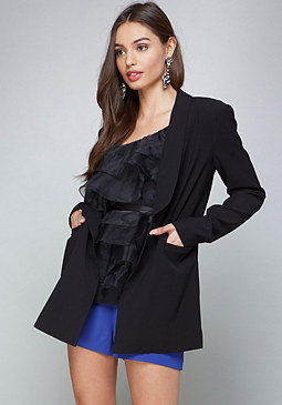bebe Luna Long Jacket