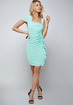 bebe Kihia Ruffled Dress